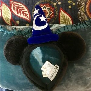 Disneyland Disney Sorcerer Mickey Ears Headband